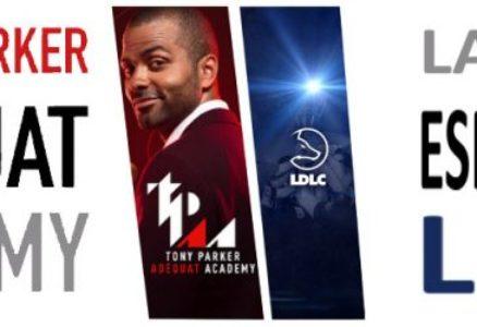 Tony Parker débarque chez Team LDLC !