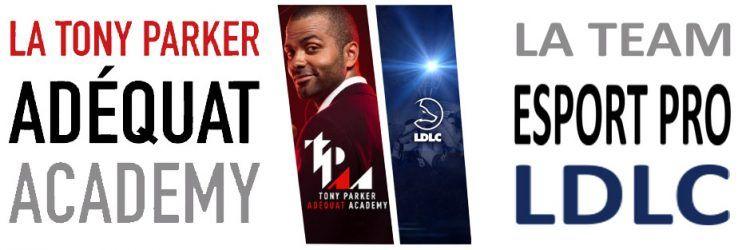 Comment s'inscrire en section esport à la Tony Parker Adéquat Academy ?