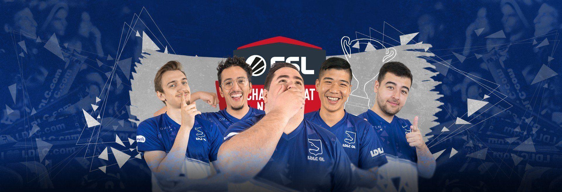 ESLCN finale : Ils sont champions de France !