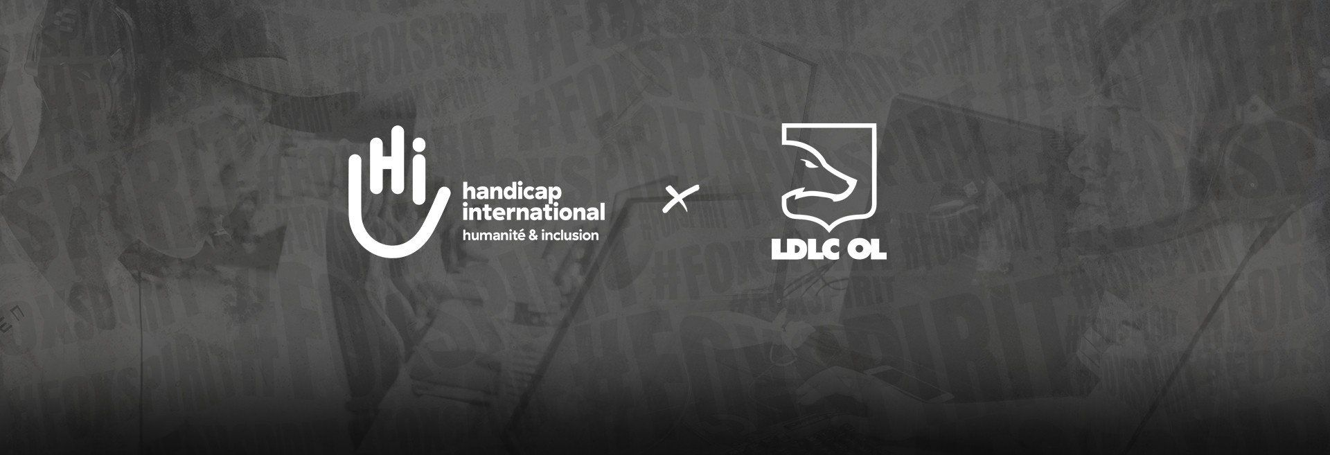 LDLC OL s'associe à Handicap International